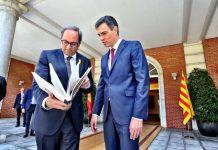 Socio Pedro Sánchez Quim Torra amenaza españoles