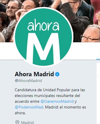 Ahora Madrid, no paguen impuestos