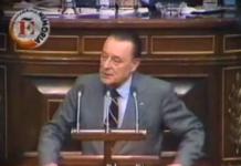 Blas Piñar en 1981 anunció los problemas de España