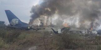 Han sobrevivido los 103 pasajeros del accidente de avión de México