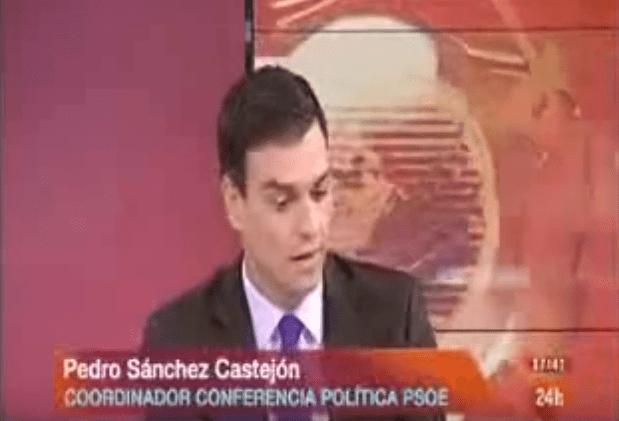 Pedro Sánchez, luz gratuíta