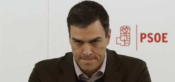 Pedro Sánchez miserable