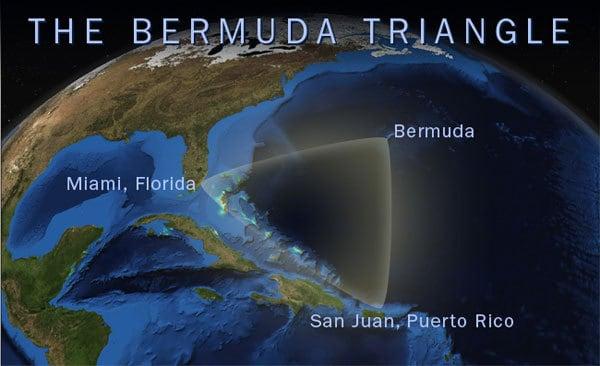 misterio del Triángulo de las Bermudas
