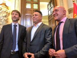 El presidente de la Diputación de Valladolid Ronaldo