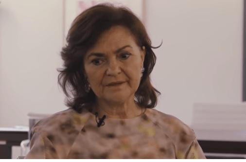Carmen Calvo sectario indecente tuit