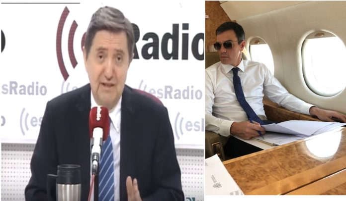 Cachondeo Federico Jiménez Losantos francotirador de Pedro Sánchez