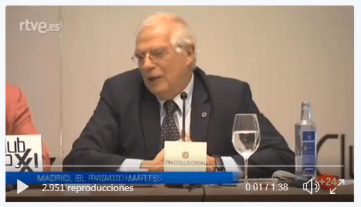 Borrell Trumo metedura de pata