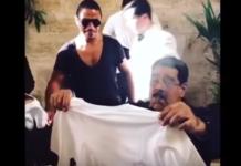 Obsceno banquete de carne de Maduro en Estambul