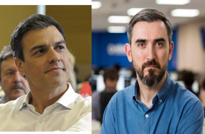 Pedro Sánchez Ignacio Escolar sale en su defensa