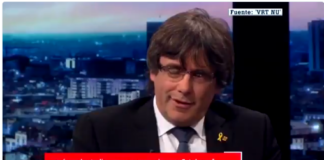 Periodista vapulea a Puigdemont