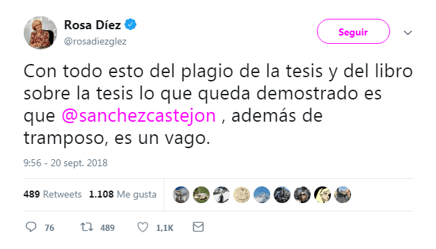 Rosa Díez Pedro Sánchez