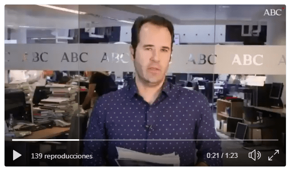 Vídeo de ABC tesis Pedro Sánchez