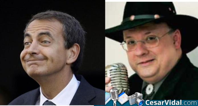 César Vidal Zapatero un Zapatero depositado por un perro