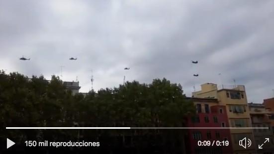 helicópteros del ejército
