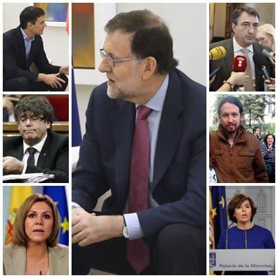 Relato de lo que sucedió la semana de la moción de censura a Rajoy