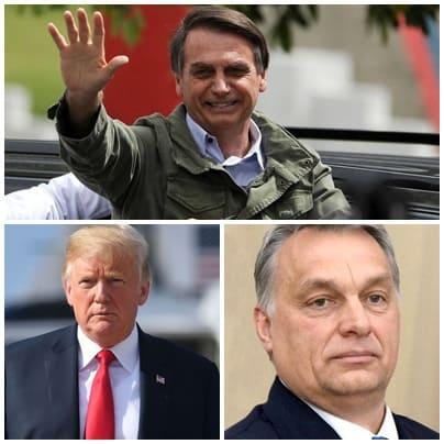 Trump Orban y bolsonaro los grandes medios ya no engañan a nadie