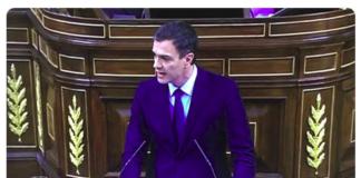 TVE rotula mal cargo Pedro Sánchez