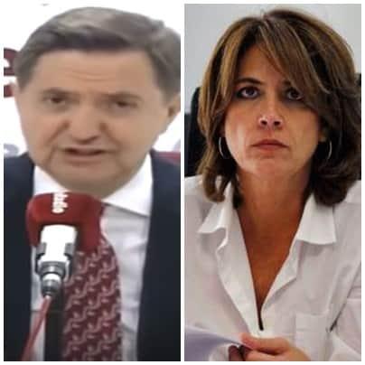 Federico Jiménez Losantos ministra Delgado está zumbada perdida