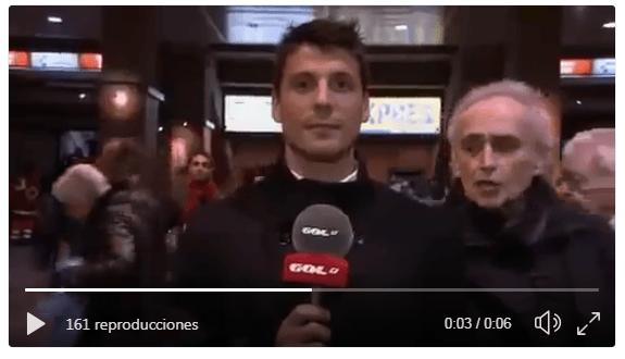 Josep Carreras separatista ultra y maleducado