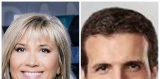 Julia Otero y Pablo Casado