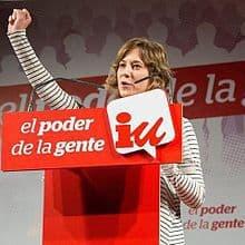 Eurodiputada de IU Marina Albiol dimite