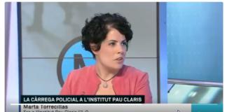 Marta Torrecillas dedos rotos mentira TV3