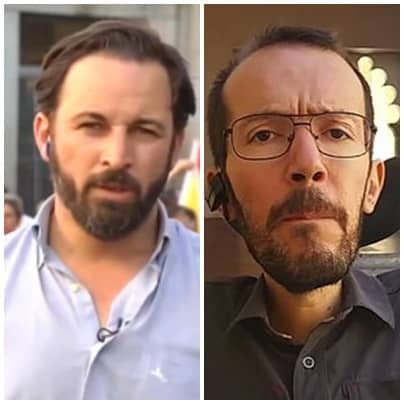 Santiago Abascal afea comentario de Echenique sobre Albert Rivera
