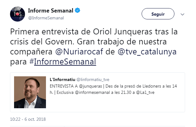 Golpistas separatistas Informa Semanal