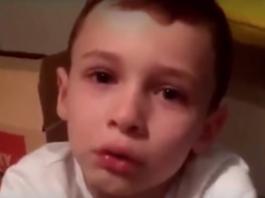 Vídeo de niño de 7 años víctima de acoso quiero morirme