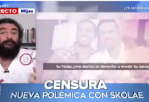 El Sevilla burlándose Gobierno Navarra por censurar Amaral