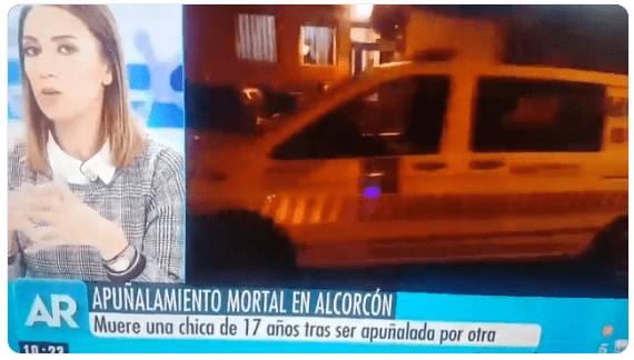 Programa Ana Rosa Quintana calificar asesinato chica Alcorcón