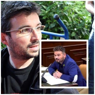 Jordi Évole Gabriel Rufián artículo La Vanguardia
