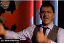 Juan Carlos Monedero cantando zasca Albert Pla