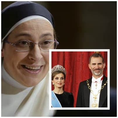 Monja Lucía Caram ataca monarquía española