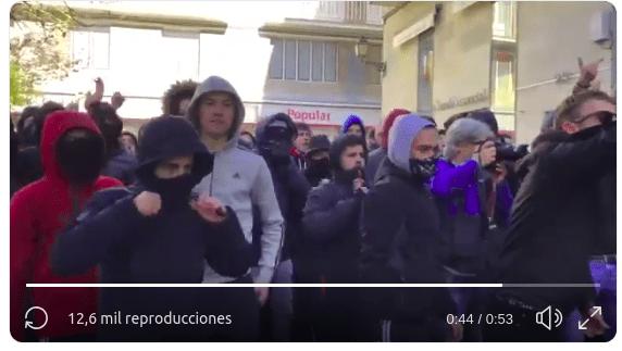 Gritos de hijos de puta españoles