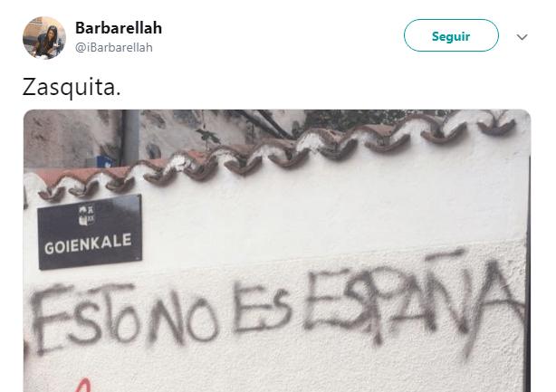 Separata pintada muro zasca