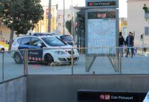 Salida de metro de Can Peixauet en la que se produjo la agresión