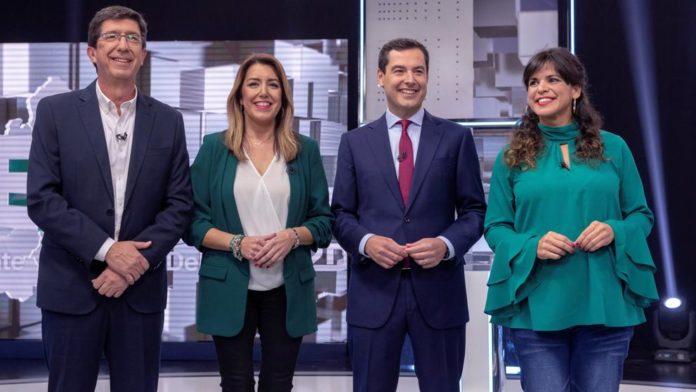 Quién ha ganado el primer debate electoral en Andalucía