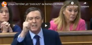 Hernando pone en su sitio a Borrell
