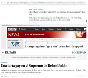 Pastor detenido en Gran Bretaña