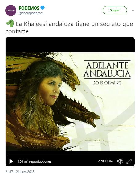 vídeo de Adelante Andalucía