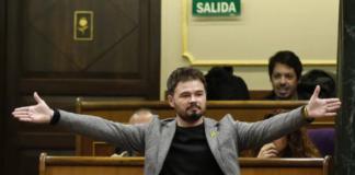 Gabriel Rufián bocachancla evidencia a Pedro Sánchez y a Podemos