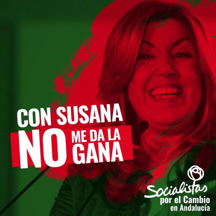Susana Díaz Twitter obsesionada con VOX