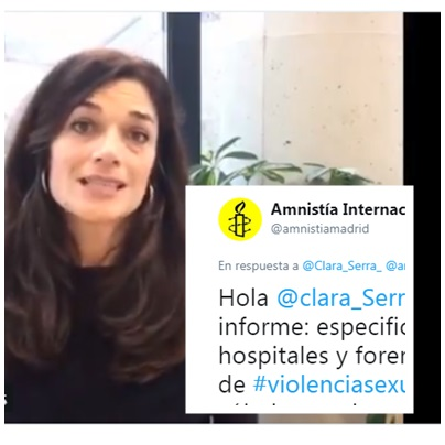 Podemos informe violencia sexual Amnistía Internacional