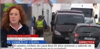 Cristina Fallarás histérica