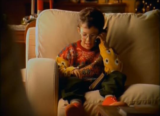 El niño de Hola soy Edu Feliz Navidad 21 años más tarde