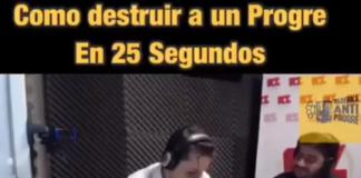 Locutor de radio destroza argumentos progre