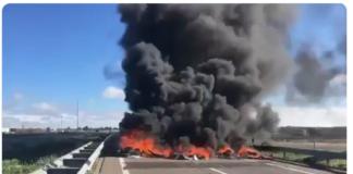 Accidentes de tráfico provocados por los CDR en Alcarrás