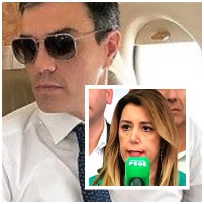 Susana Díaz echar a Pedro Sánchez