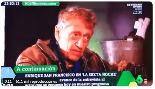 Quique San Francisco facha estalinistas